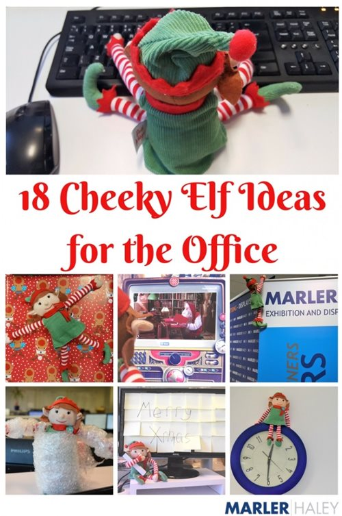 18 cheeky elf ideas for the office