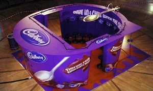 Cadbury Exhibition Stand