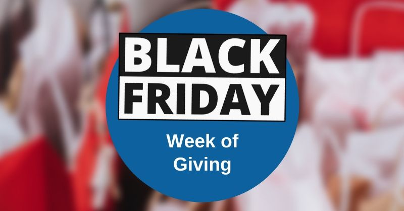 Black Friday week of giving with Marler Haley in 2019