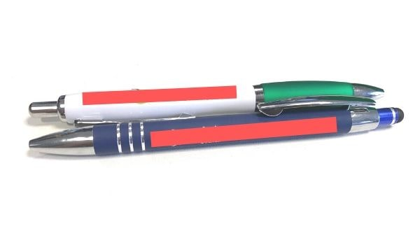 Fully branded promotional pens
