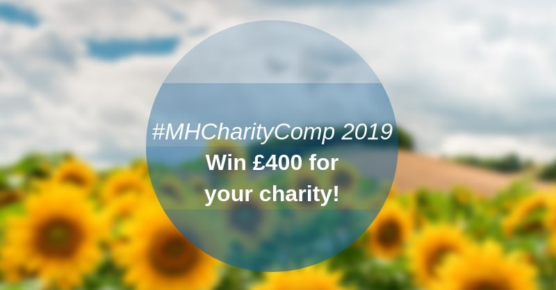 #MHCharityComp competition for charities