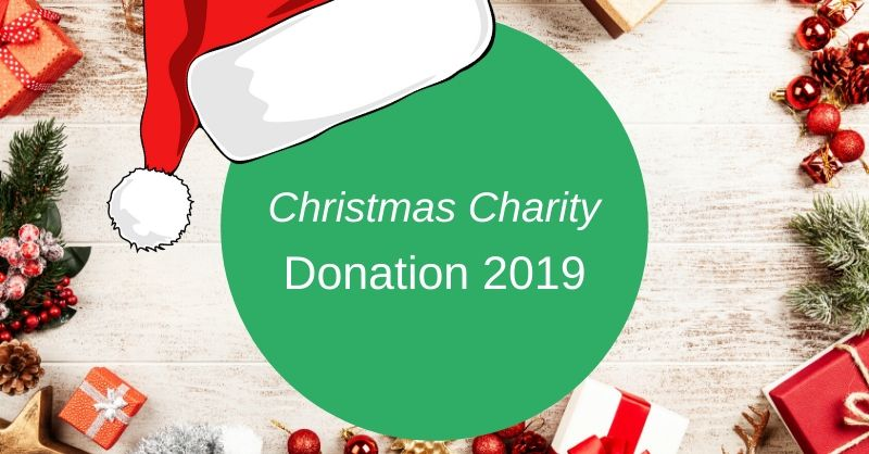 Christmas Charity Donation for 2019