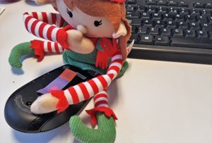 elf on a mouse