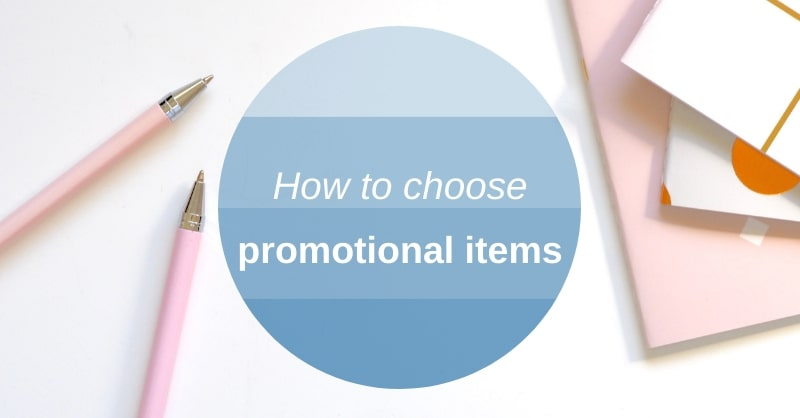 how to choose promotional items