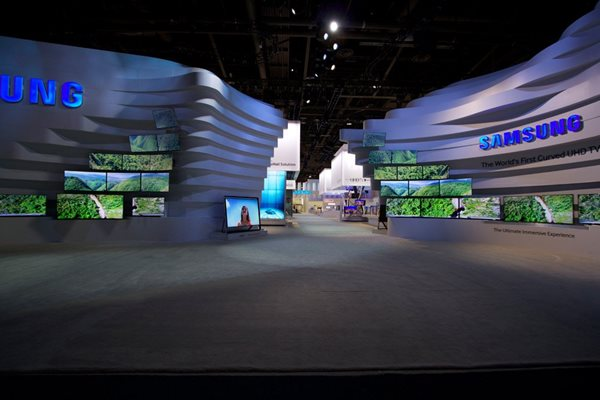samsung exhibition display