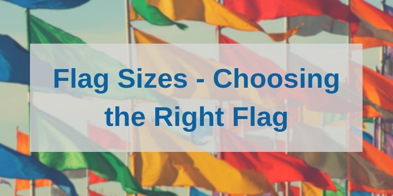 Flag sizes buying guide