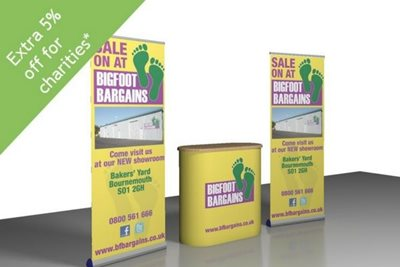 Pull Up Banner Stand Kit
