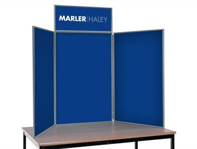 Display Board Printed Graphics Tabletop