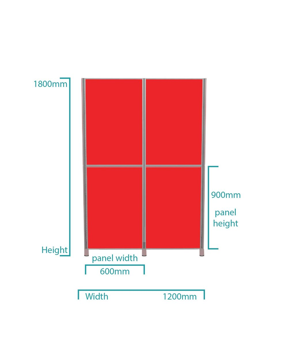 4-panel-portrait-ligtweight-pole-and-panel-display-board-kit-dimensions