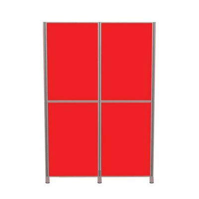 Lightweight Pole and Panel 4 Panels Vertical