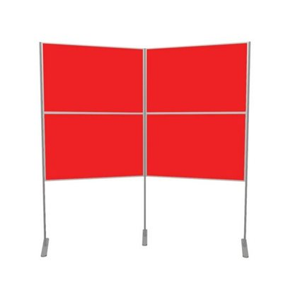 Lightweight Pole and Panel 4 Panels