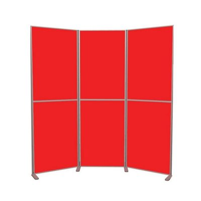 Lightweight Pole and Panel 6 Panels Vertical