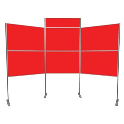 Lightweight Pole and Panel 6 Panels