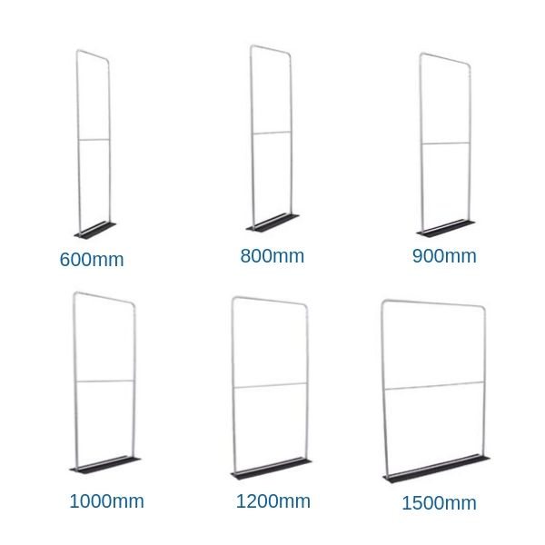Fabric Display Screen Sizes