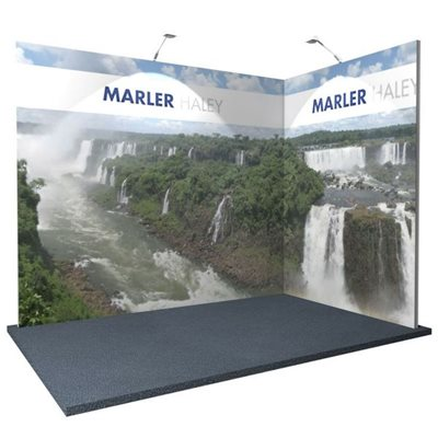 3x2 L Shaped Modular Exhibition Systems