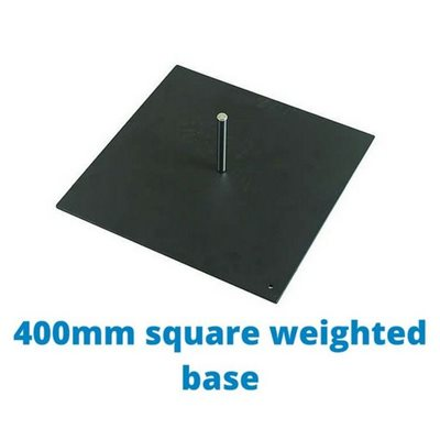 400mm Square Weighted Base