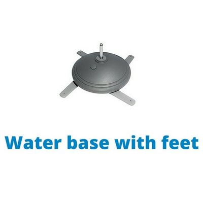 Water Base With Feet Base