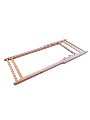 Collapsed Deck Chair Frame