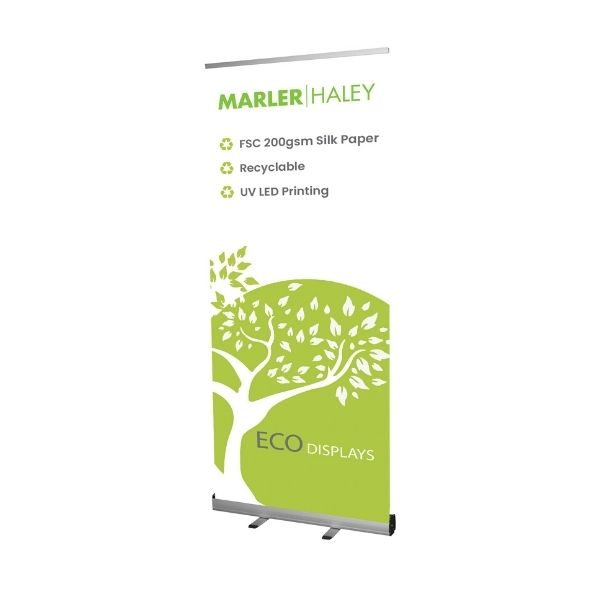 Genesis Recyclable Paper Roller Banner Stand