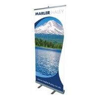 genesis roller banner stand featured