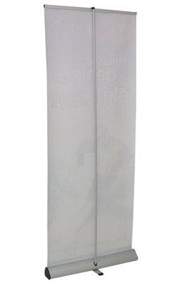 Junior Roller Banner Stand Rear