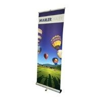 junior roller banner stand featured