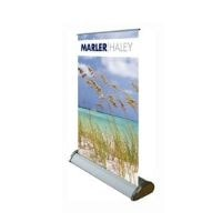 miniature roller banner stand featured