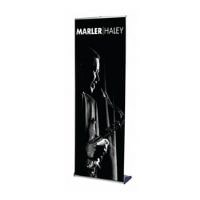 style roller banner stand featured
