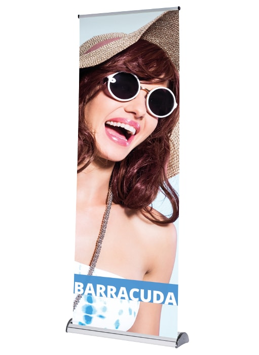 Barracuda Banner Stand