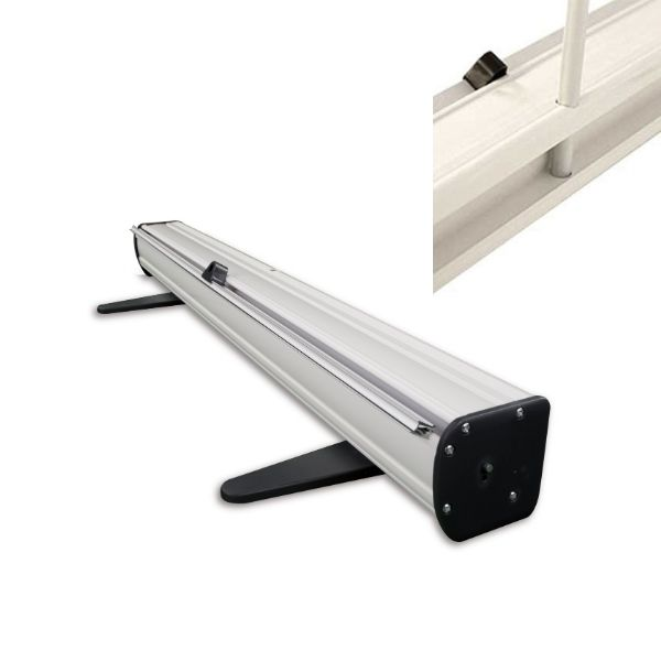 Basics Roller Banner - Base and Support Pole Fitting