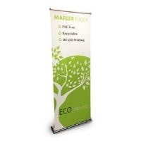 style eco roller banner stand featured