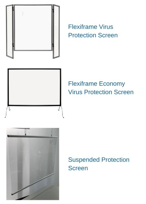 Virus Protection Sneeze Screens