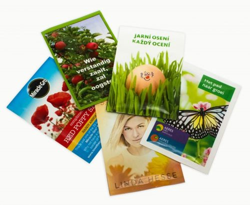Printed Seed Packets