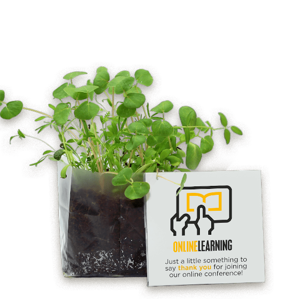 Instant Garden with Branded Packaging