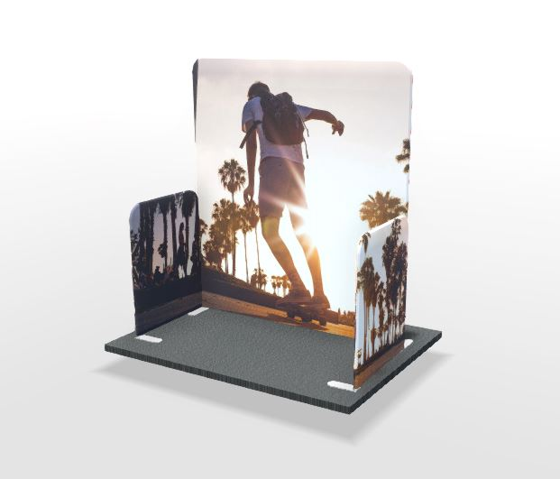 Modulate™ 2m x 1m U-Shape Display