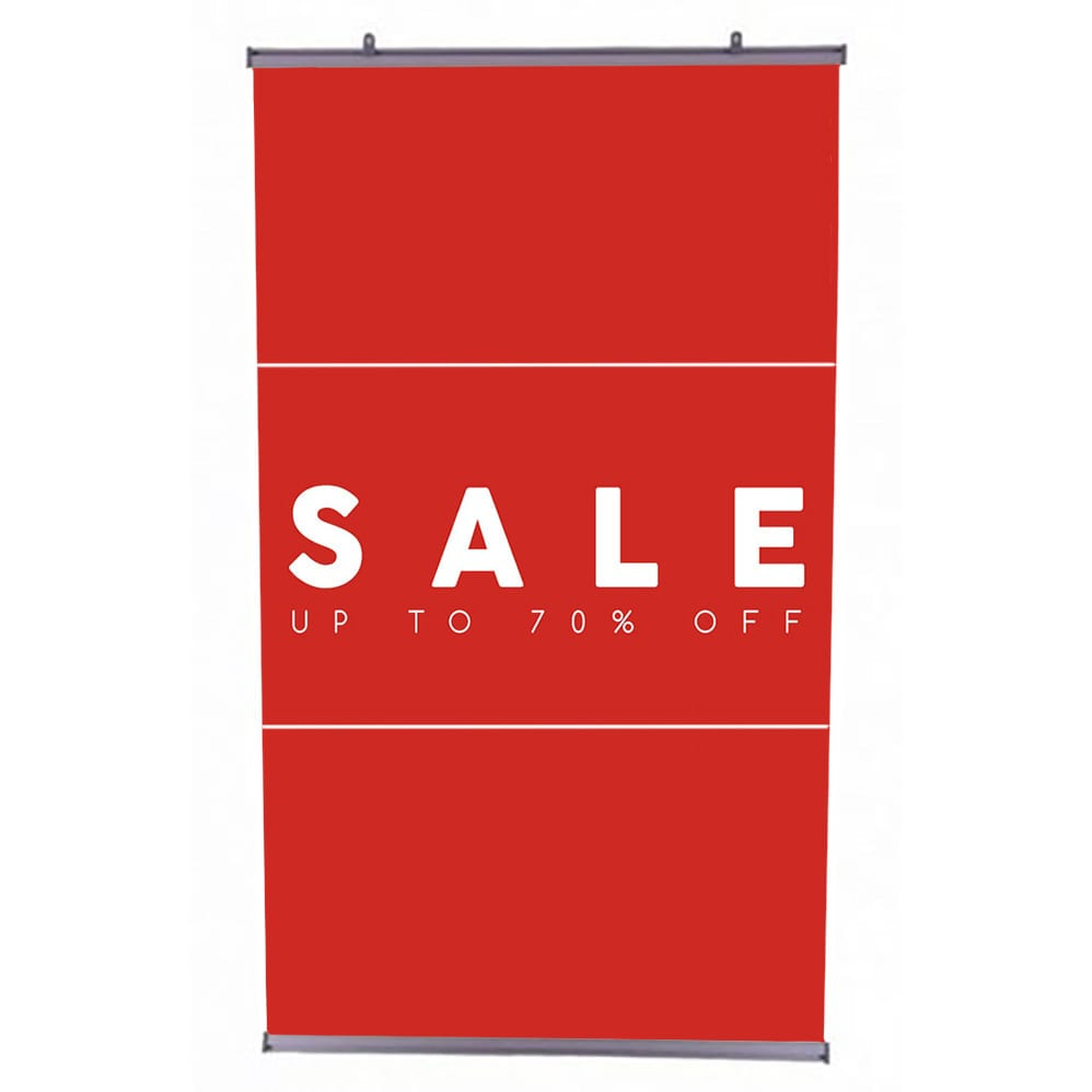 Hanging Sale Eco-Banner