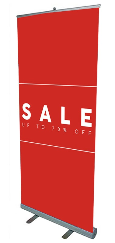 Sale Roller Banner Stand