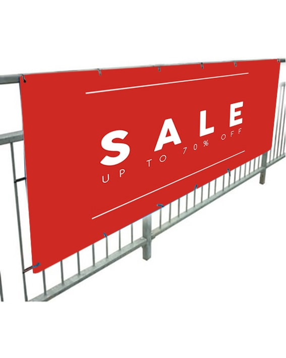 Outdoor PVC Sale Banners