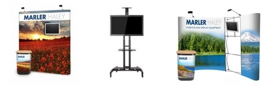 mobile tv stands advert category banner
