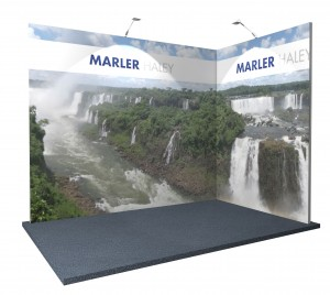 Exhibition season 3x2 corner modular exhibition stand