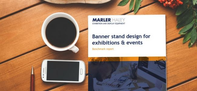 Banner stand design guide on page teaser