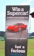 Selecting colours for your display fast and furious banner