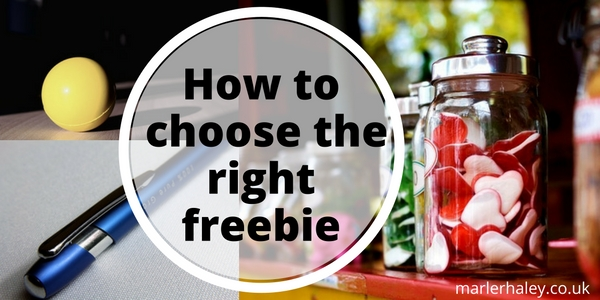 How to choose the right freebie