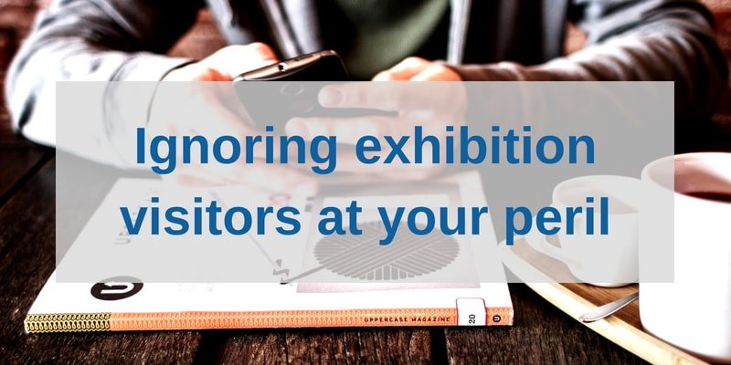 Exhibition Stand Design Best Practice : Why you shouldnt ignore visitors at events marler haley