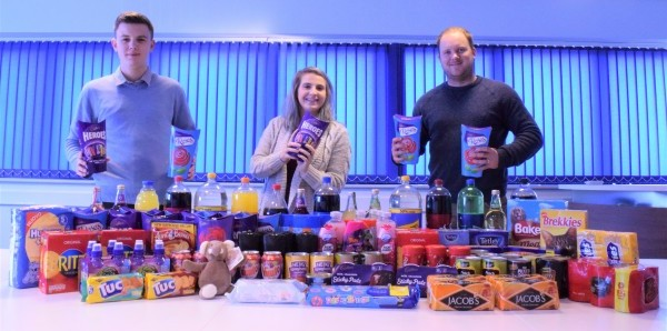 MH Foodbank donation