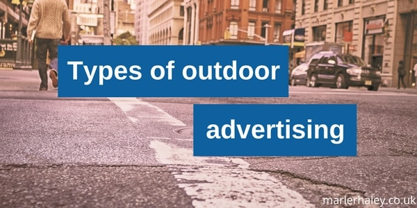 Types of outdoor advertising