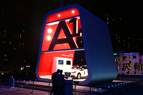Audi A1 Exhibition stand