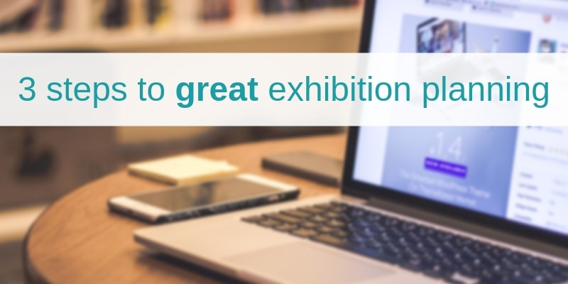 Exhibition planning tips