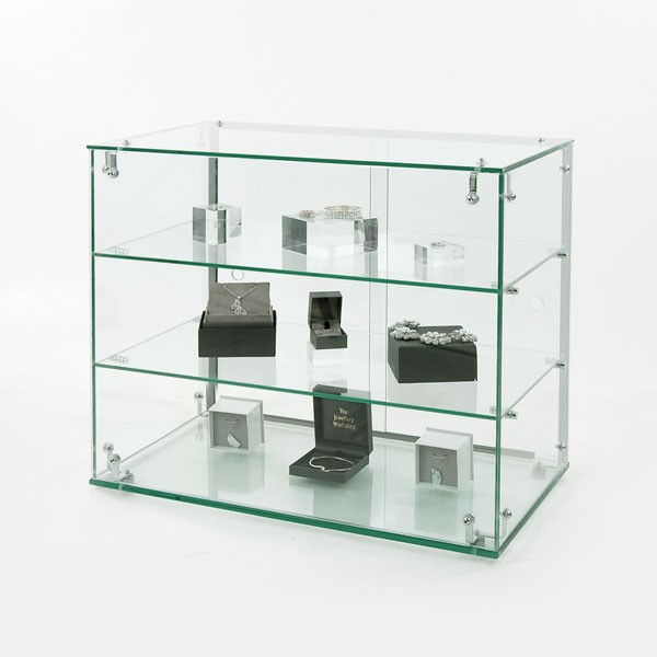 glass display showcase counter