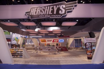 Hershey's Exhibition Stand